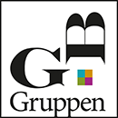 GB Gruppen logo hvid baggrund